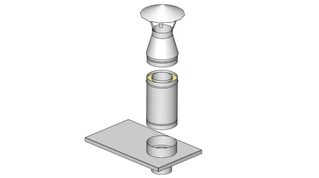 komínová nástavba